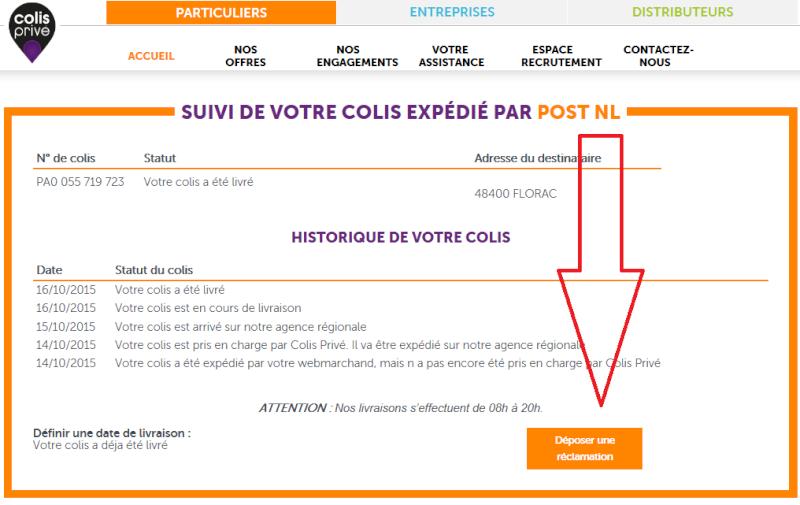 Aide suivi colis venant de hollande Sans_t12
