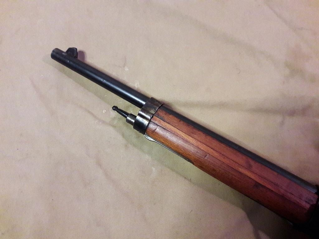 Carabine Berthier Mle 1890 transformée en Mle 92 20190713