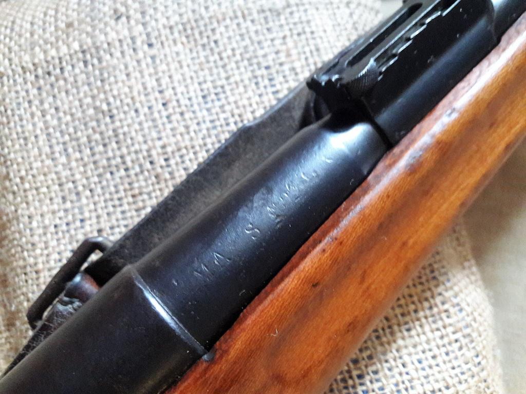 Carabine Berthier Mle 1890 transformée en Mle 92 20190716