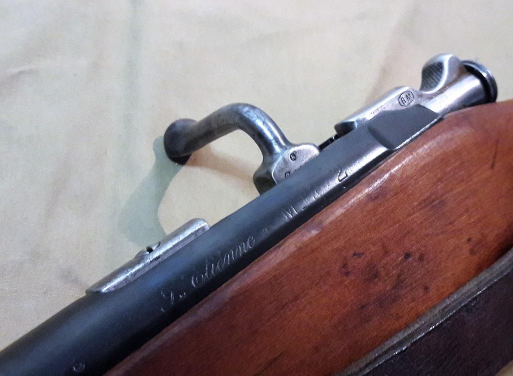 Carabine Berthier Mle 1890 transformée en Mle 92 20190717