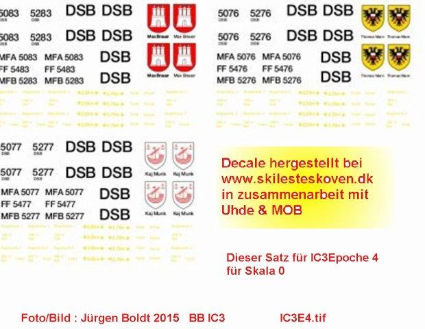 DSB mal was modernes - die Gummischnauze Ic3e410