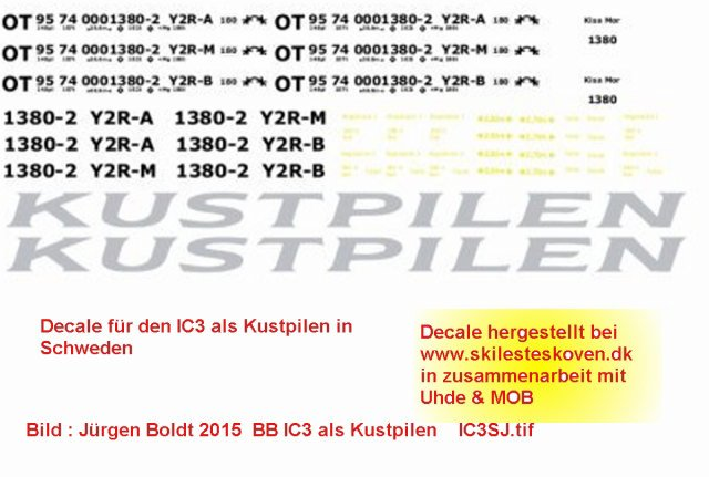 DSB mal was modernes - die Gummischnauze Ic3sj10