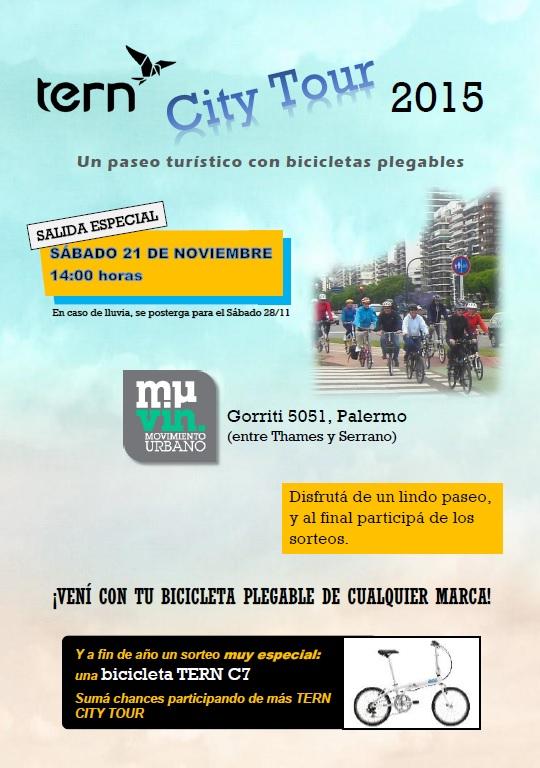 TERN CITY TOUR desde MUVIN *SALIDA ESPECIAL* Flyer13