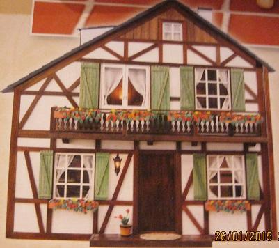 Dorfpuppenhaus von Wartburg Hp201511