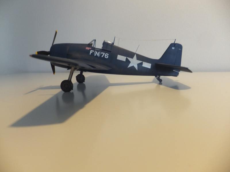 Hellcat F6F 5N Eduard 1/48 par PascalB 0061010