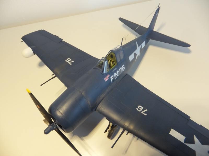 Hellcat F6F 5N Eduard 1/48 par PascalB 0111010