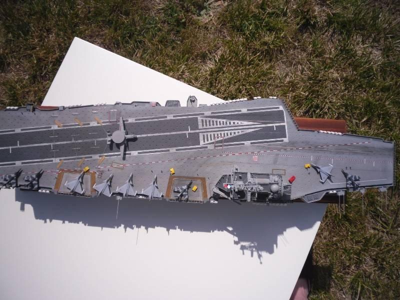 Porte avion Charles de Gaulle Heller 1/400 Pascal B Cdg_fi17