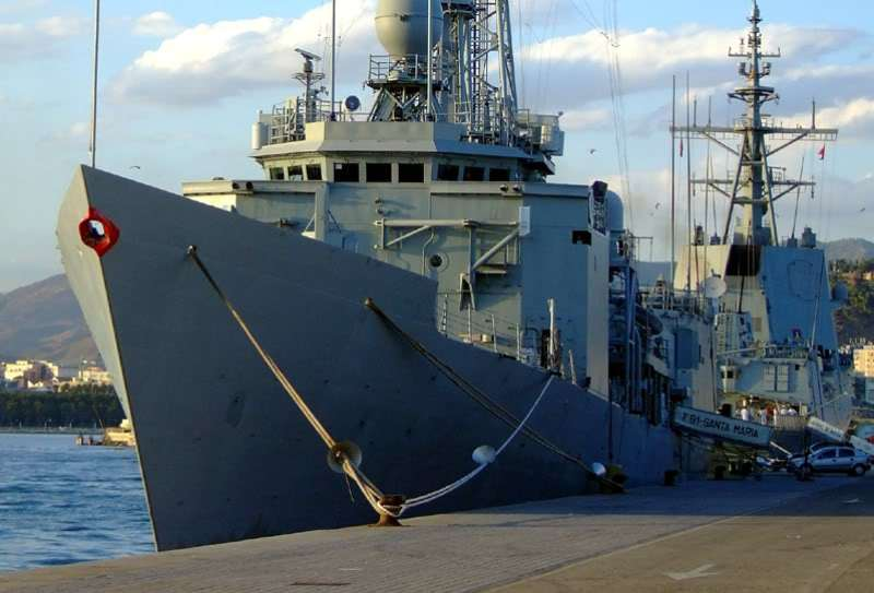 USS REUBEN JAMES 1/350 Academy  Intern11
