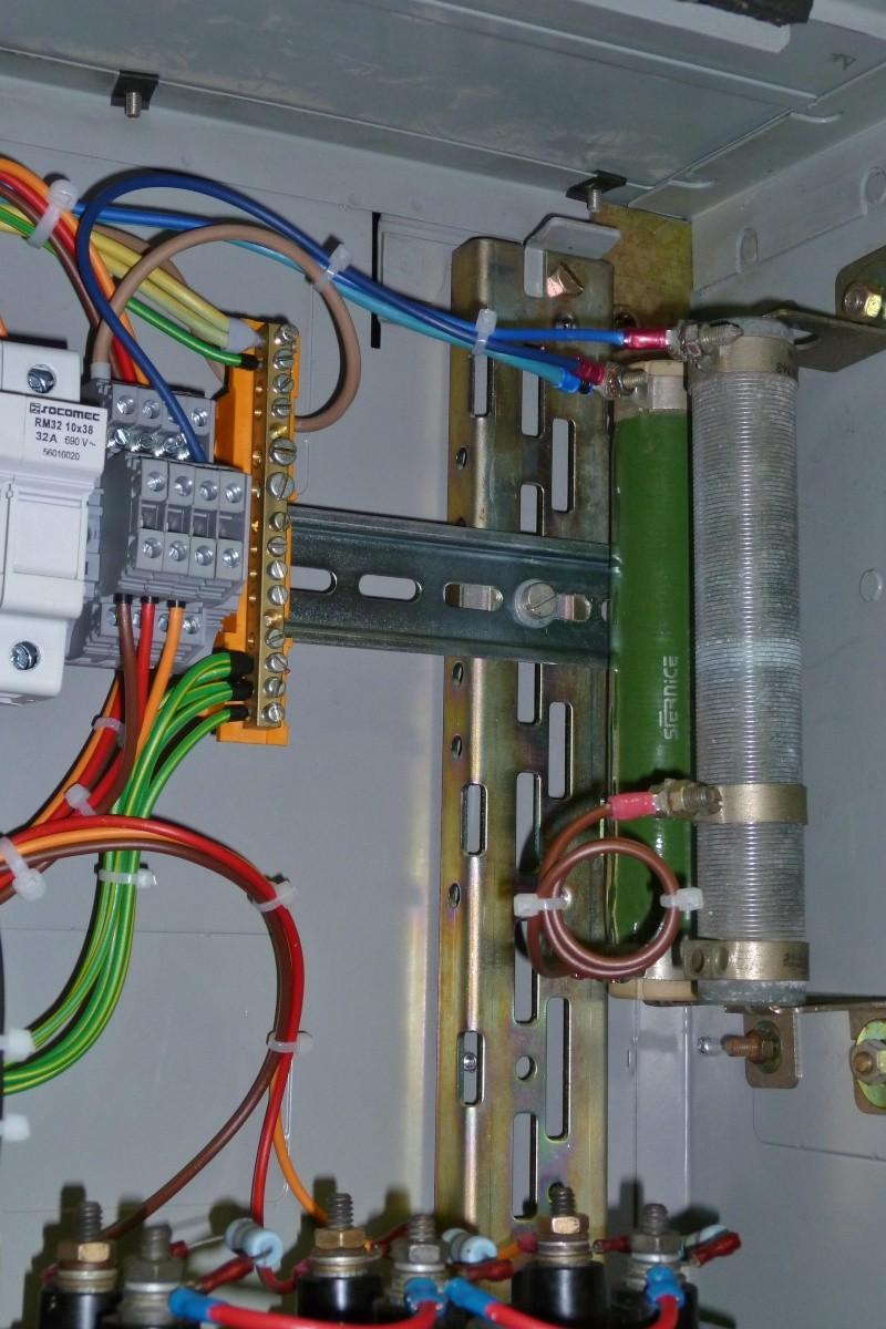 Modification de la régulation d'un alternateur TRI 5kVA à induit tournant Ge_5kv15