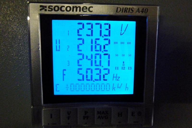Modification de la régulation d'un alternateur TRI 5kVA à induit tournant Ge_5kv18