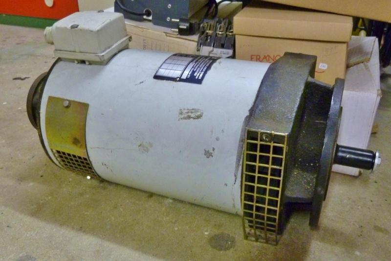 Démarrage moteur 170VCC - 4,15kW - 2900tr/mn P1100910