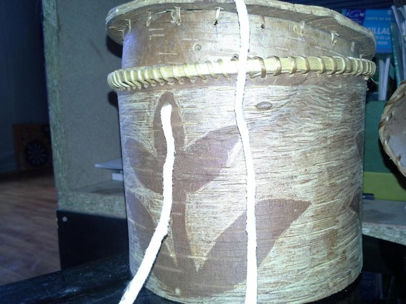 [tutoriel / DIY ] Fabriquer un contenant en écorces de bouleau 20151013