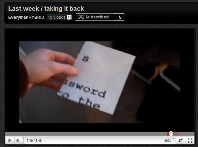 The Envelope Taking10