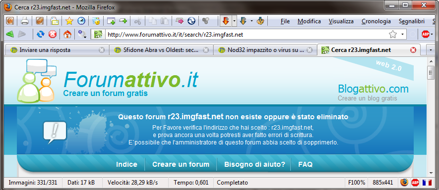 Nod32 impazzito o virus su AntiTroll??? 25-02-11