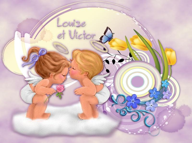 A Victor et Louise mes bébés d'amour tant désirés Angesl12