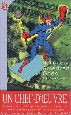 AMERICAN GODS de Neil Gaiman Livres10