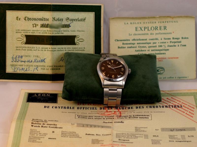 (Vends) Rolex ExplorerRéf : 1016 Img_4810