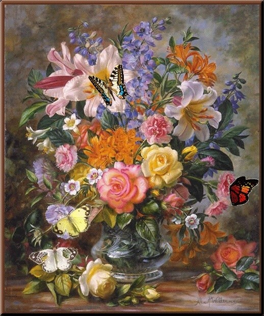 Les FLEURS  dans  L'ART - Page 36 0dbefd10