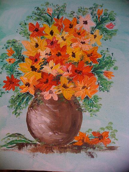 Les FLEURS  dans  L'ART - Page 38 10257010