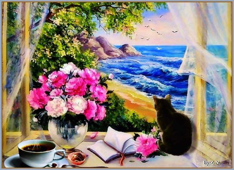 Les FLEURS  dans  L'ART - Page 36 11221910