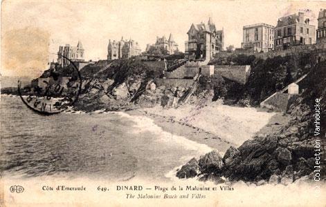 Villes et villages en cartes postales anciennes .. - Page 44 Dinard10