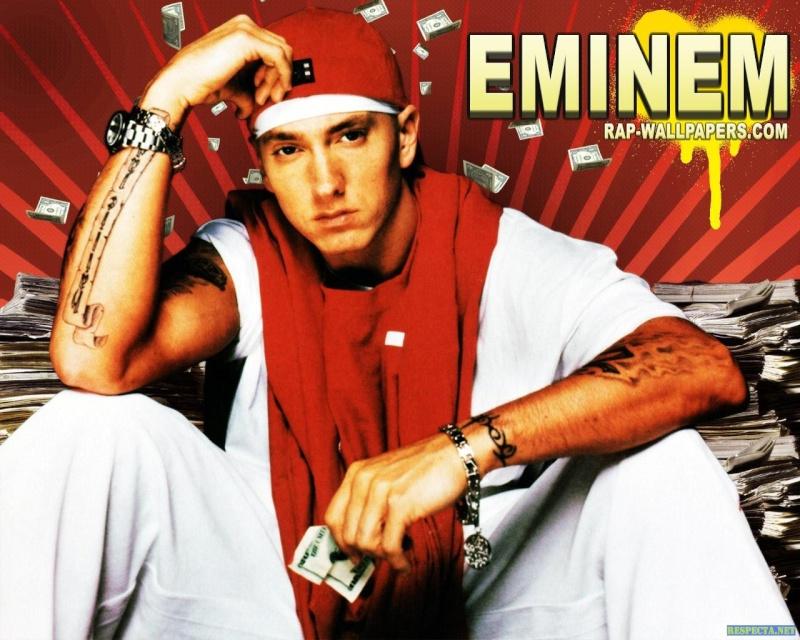 Personnes célèbres réelles ou imaginaires - Page 39 Eminem10