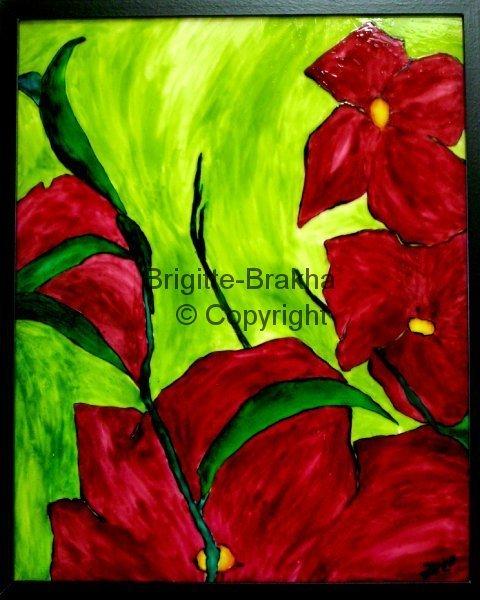 Les FLEURS  dans  L'ART - Page 36 Fleurs11