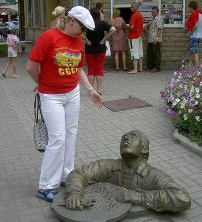 Des statues amusantes ! - Page 2 Funny-13
