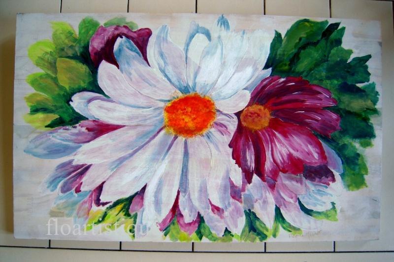 Les FLEURS  dans  L'ART - Page 39 Peintu23