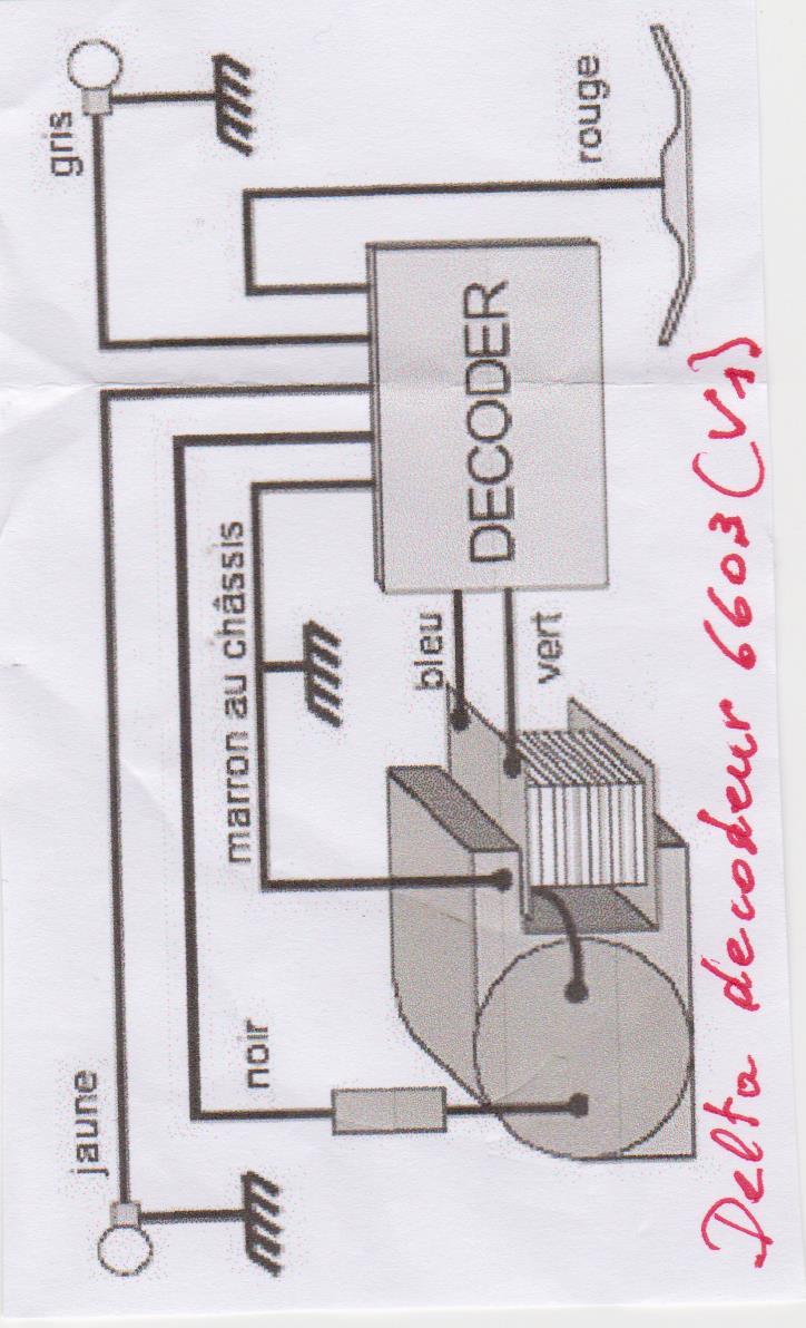 Décodeur delta 6603 (V1)  pour 3021 ou V200 Image11