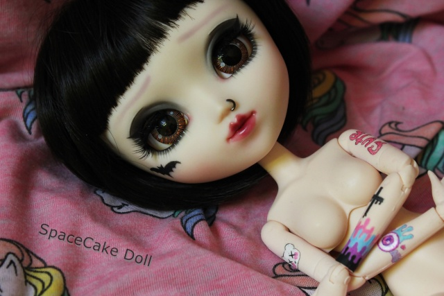 SpaceCake Doll °• Commissions make-up Pullip/BJD Img_8010