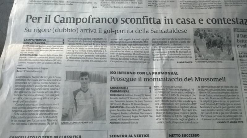 Campionato 5°giornata: atl. campofranco - Sancataldese 0-1 0210