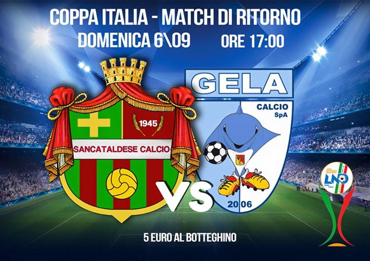 1° turno C. I. ritorno: Sancataldese - gela calcio 3-0 11960110