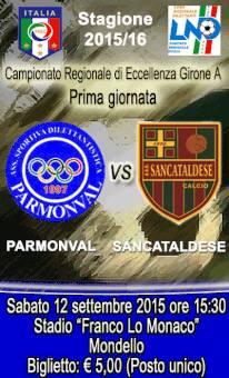 Campionato 1°giornata: parmonval - Sancataldese 2-1 12003310
