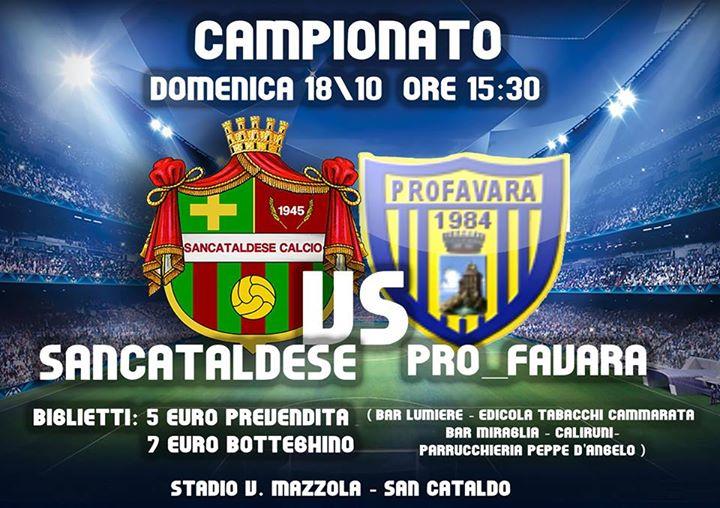 Campionato 6°giornata: Sancataldese - pro favara 2-0 12079010