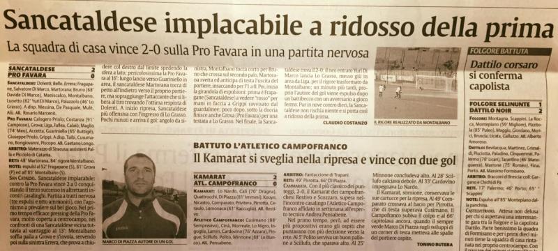 Campionato 6°giornata: Sancataldese - pro favara 2-0 12094710