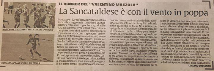 Campionato 6°giornata: Sancataldese - pro favara 2-0 12109810