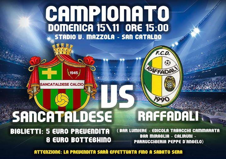 Campionato 10°giornata: Sancataldese - raffadali 1-0 12241710