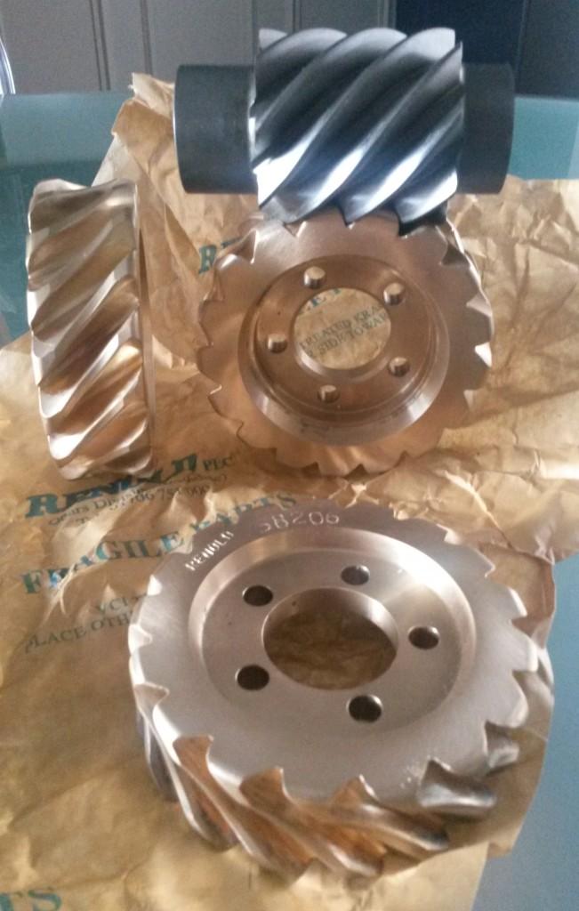 Huile boite de vitesse / renvoi de transmission Worn_w10