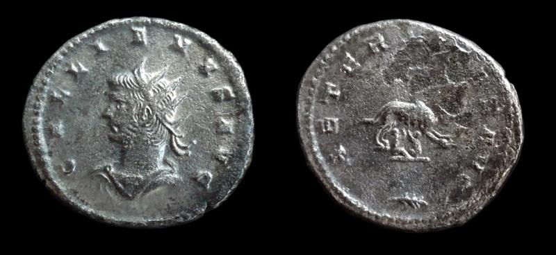 Gallien les monnaies de Scram  2a10