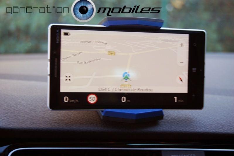 [TEST] MobileFun : Support universel voiture Spigen Stealth Visuel10
