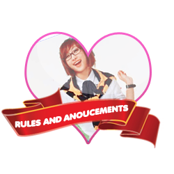 RULES AND ANOUCEMENTS