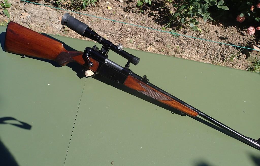 Identification et estimation carabine civile MAS + lunette L810 APX P9080011