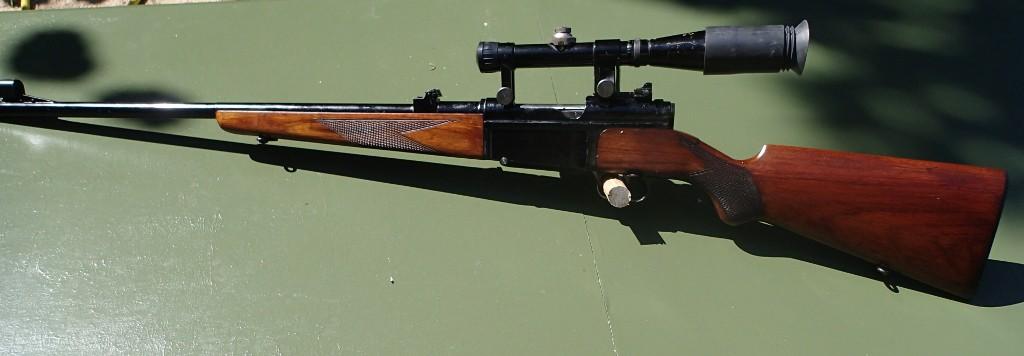 Identification et estimation carabine civile MAS + lunette L810 APX P9080012