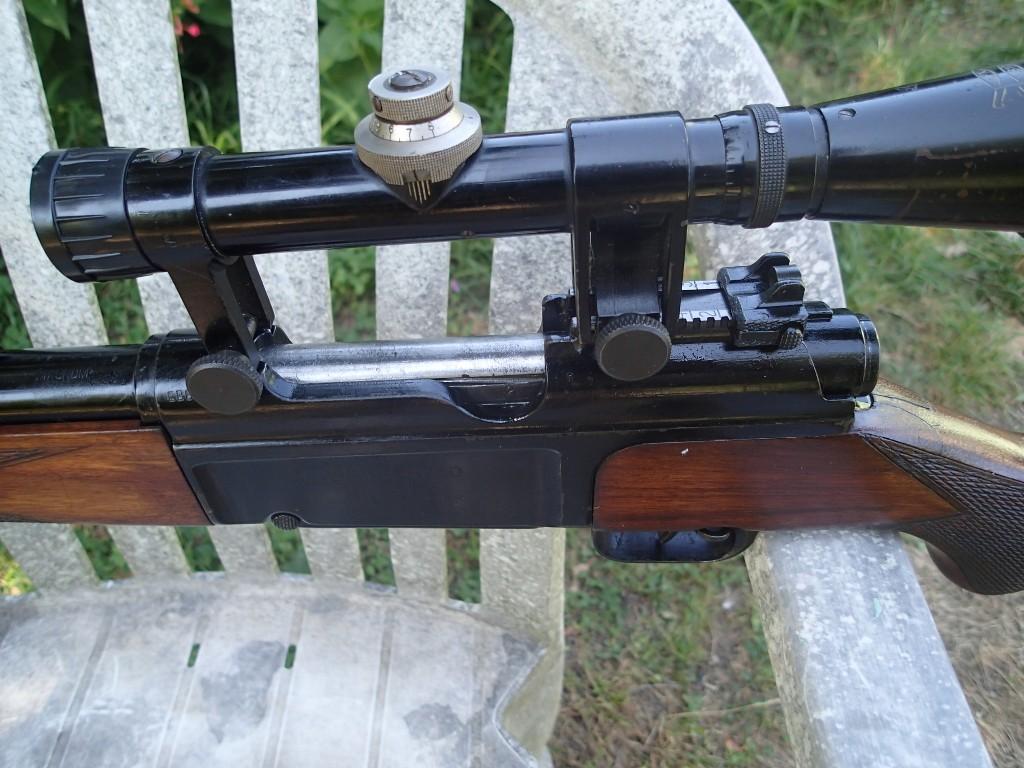 Identification et estimation carabine civile MAS + lunette L810 APX P9080014