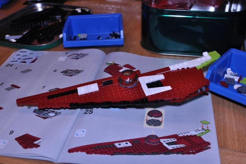 Lego - 10215 - UCS Obi-Wan's Jedi Starfighter Dsc_0237
