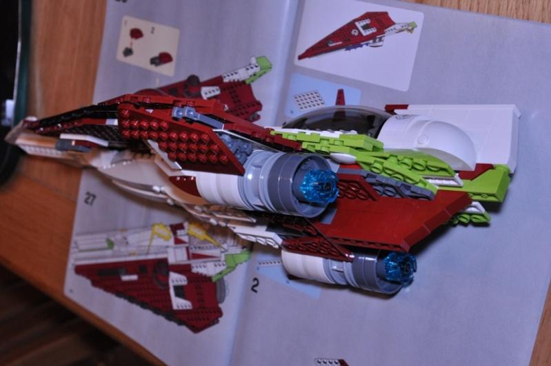 Lego - 10215 - UCS Obi-Wan's Jedi Starfighter Dsc_0239
