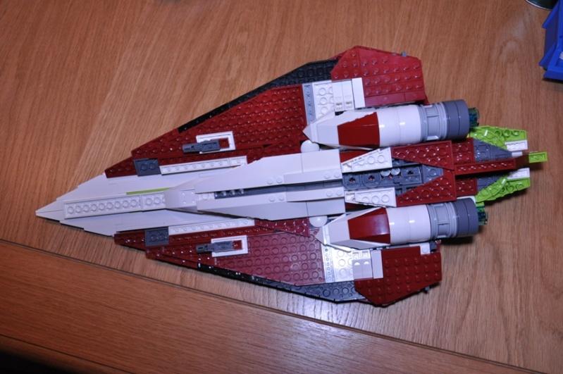 Lego - 10215 - UCS Obi-Wan's Jedi Starfighter Dsc_0246