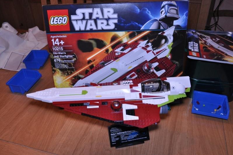 Lego - 10215 - UCS Obi-Wan's Jedi Starfighter Dsc_0249