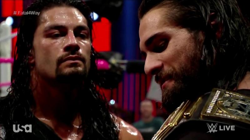 [Question d'actu] Roman Reigns doit-il battre Seth Rollins et devenir champion du monde poids lourd de la WWE ? Maxres11